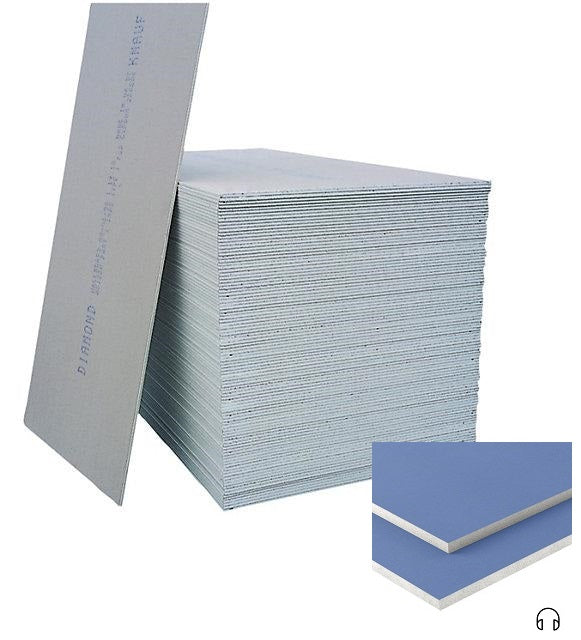 Knauf Sound Panel Plasterboard Tapered Edge 2.4m x 1.2m x 12.5mm (PALLET of 32)