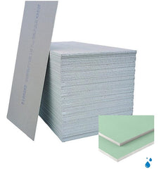 Knauf Moisture Panel Plasterboard Square Edge 2.4m x 1.2m x 12.5mm (PALLET of 60)