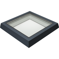 RAYLUX Flat Glass Top Cover to Fit Builders Upstand - Grey