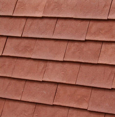 Dreadnought Clay Plain Roof Tiles - Rustic Red