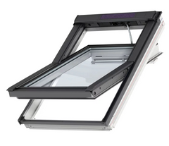 VELUX GGL MK10 206630 Triple Glazed White Painted INTEGRA® SOLAR Window (78 x 160 cm)