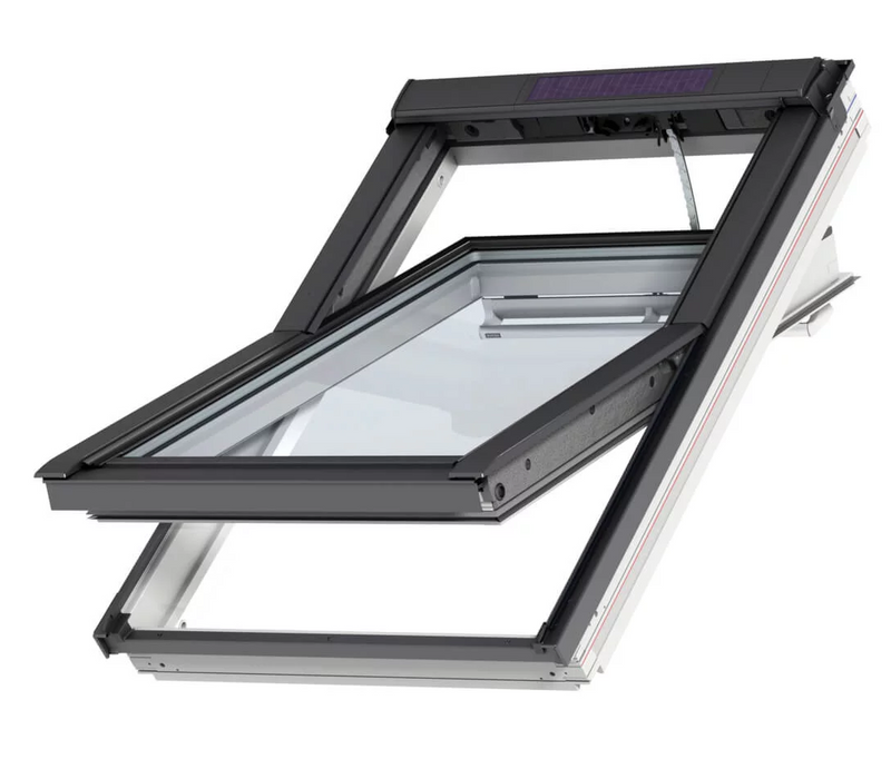 VELUX GGU UK04 006630 White INTEGRA® SOLAR Window (134 x 98 cm)
