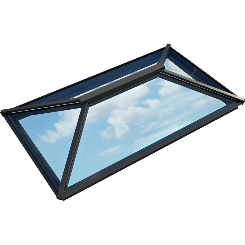 Atlas Contemporary Aluminium Roof Lantern - Active Neutral Glazing
