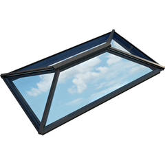 Atlas Contemporary Aluminium Roof Lantern - Active Blue Glazing