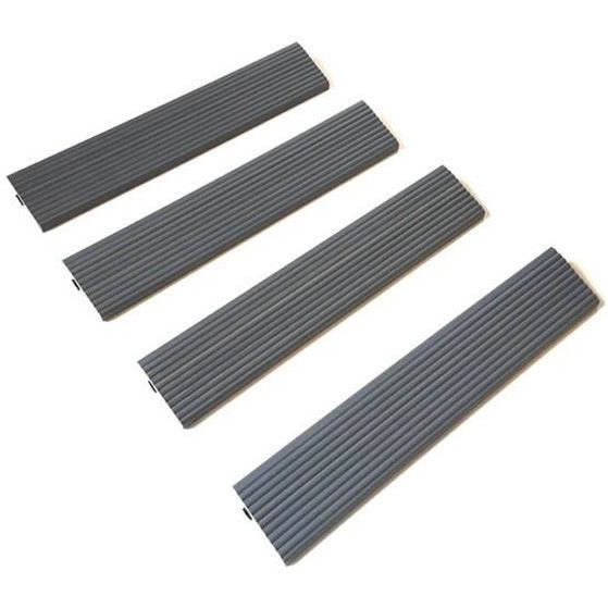 Castle Composites Castlewood Ramp Edge - Silver Grey (pack of 4)