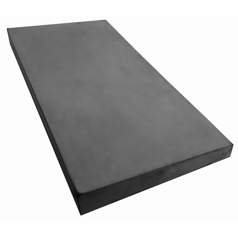 Castle Composites Single Weathered Coping Stones 600 x 300mm - Dark Grey