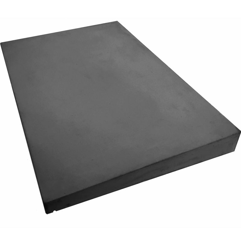 Castle Composites Single Weathered Coping Stones 600 x 375mm - Dark Grey