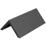 Marley Clay Plain Angle Ridge 450mm - Slate Black
