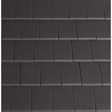 Planum Clay Interlocking Low Pitch Roof Tile 10° - Slate Grey
