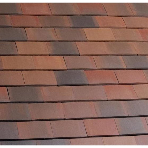 Marley Acme Double Camber Plain Tile - Smooth Brindle