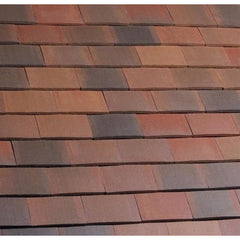 Marley Acme Double Camber Plain Roof Tile - Smooth Brindle