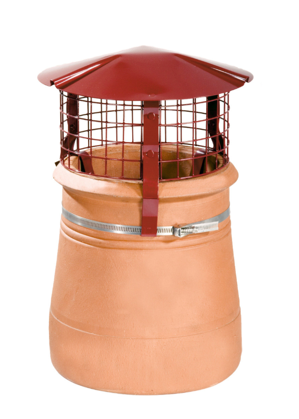 Brewer Birdguard Metal Chimney Cowl - Solid Fuel