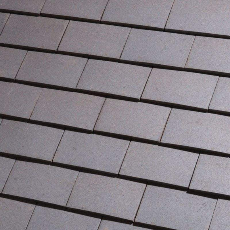 Dreadnought Clay Plain Roof Tiles - Staffordshire Blue (sandfaced)