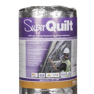 YBS SuperQuilt Multi-Layer Foil Insulation Roll - 1.2m x 10m (12m2)