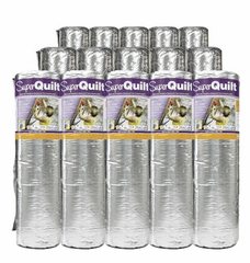 YBS SuperQuilt Multi-Layer Foil Insulation Roll - 1.2m x 10m (PALLET of 15 Rolls)