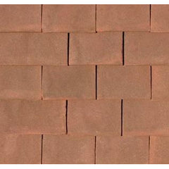 Tudor Traditional Handmade Clay Plain Roof Tile - Sussex Brown
