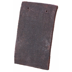 Tudor Traditional Handmade Clay Plain Roof Tile - Dark Antique