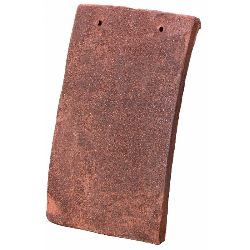 Tudor Traditional Handmade Clay Plain Roof Tile - Medium Antique
