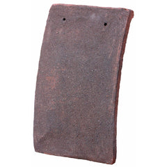 Tudor Traditional Handmade Clay Plain Roof Tile - Weathered Earth