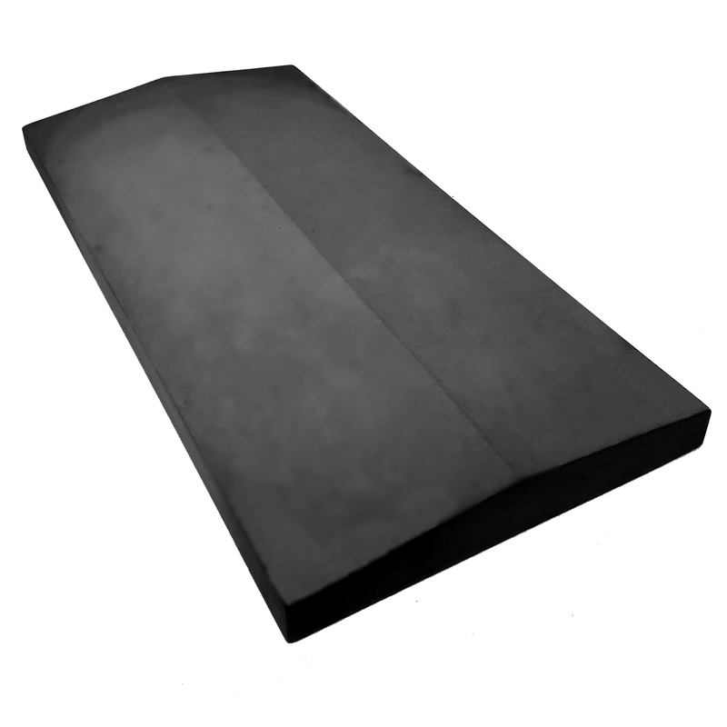 Castle Composites Twice Weathered Coping Stones 600 x 300mm - Dark Grey