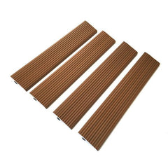 Castle Composites Castlewood Ramp Edge - Teak  (pack of 4)