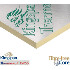 Kingspan ThermaWall TW55 PIR Insulation Board - 1200 x 2400mm