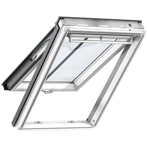velux gpl mk08 sd5n2 white painted top hung conservation roofing outlet. Black Bedroom Furniture Sets. Home Design Ideas