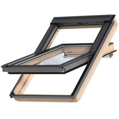 VELUX GGL PK08 3070Q Enhanced Security Pine Centre-Pivot Roof Window (94 x 140 cm)