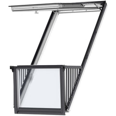 VELUX GDL White Painted Cabrio® Balcony