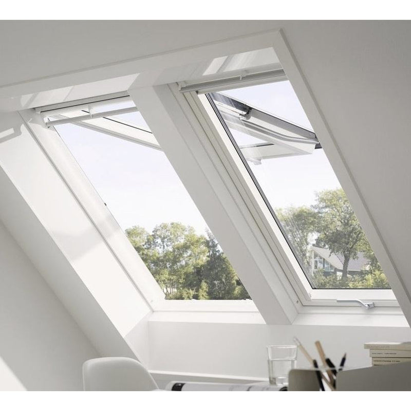 VELUX EKY W35 2000 White Support Trimmer 100mm Gap - 3500mm Long