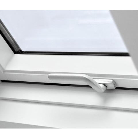 velux gpu pk06 0070 white top hung window roofing outlet. Black Bedroom Furniture Sets. Home Design Ideas