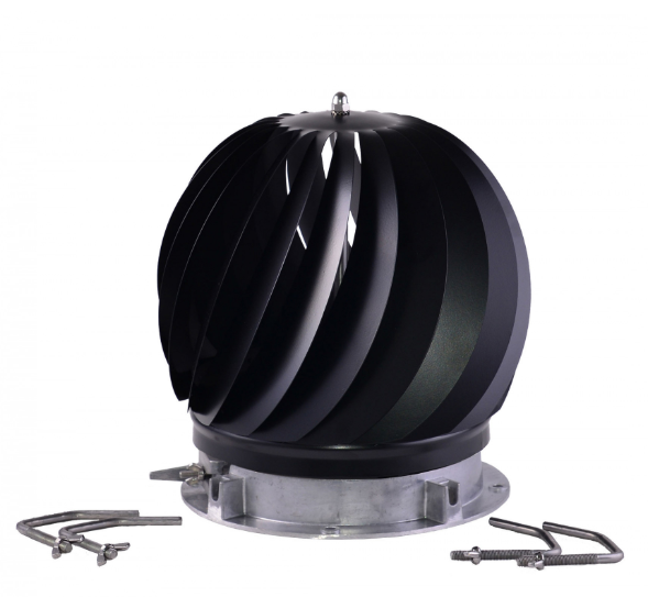 Brewer Aspirotor Spinning Multifuel Cowl