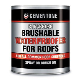 Rufabrush Brushable Waterproofer for Roofs