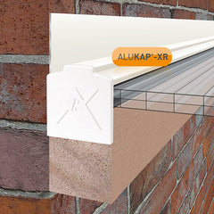 ALUKAP®-XR Aluminium Wall Bar with End Cap - 60mm