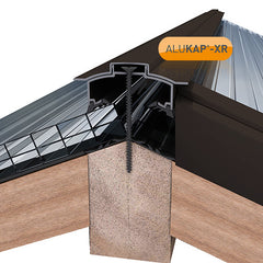 ALUKAP®-XR Aluminium Hip Bar with End Cap