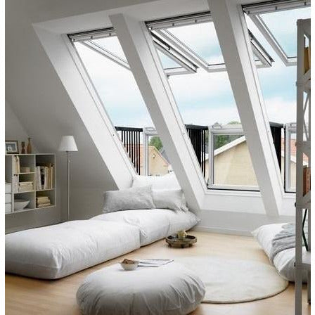 VELUX GDL PK19 SD0L001 White Painted Cabrio® Balcony (94 x 252 cm)