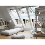 VELUX GDL PK19 SK0W322 White Painted Cabrio® Balcony (302 x 252 cm)