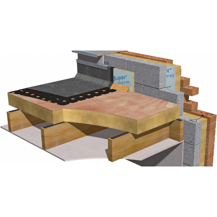 Quinn Therm QRFR-PLY Insulated Decking Board - 136mm (130mm + 6mm PLY)