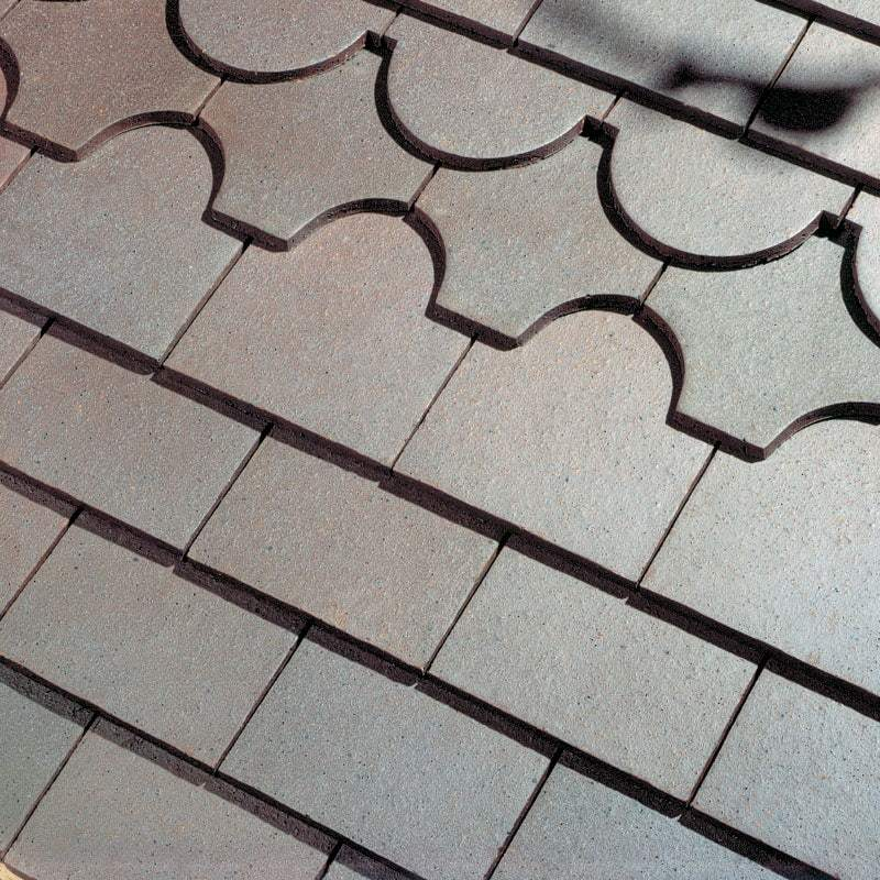 Dreadnought Clay Plain Roof Tiles - Blue Brindle (smoothfaced)