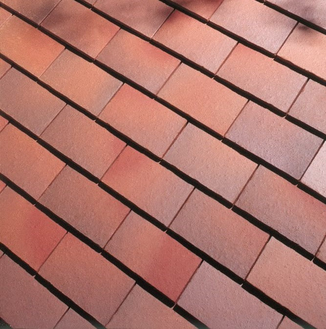 Dreadnought Clay Plain Roof Tiles - Brown Antique (smoothfaced)