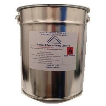 Dugganite Solar Reflective Paint - White 20 Ltr