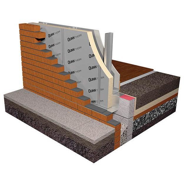 Quinn Therm PIR Insulation Board - 80mm