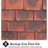 Heritage Clay Plain Roof Tile - Classic Edwardian Blend