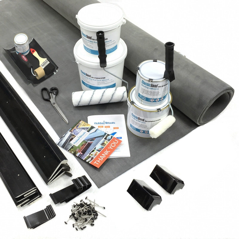 ClassicBond® EPDM Dormer Rubber Roof Kit - (CUT TO SIZE)