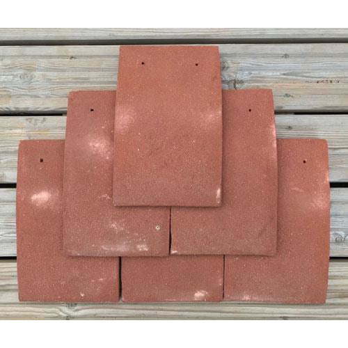 Heritage Clay Plain Roof Tile Clayhall Red Blend