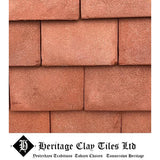 Heritage Clay Plain Roof Tile - Clayhall Red Blend