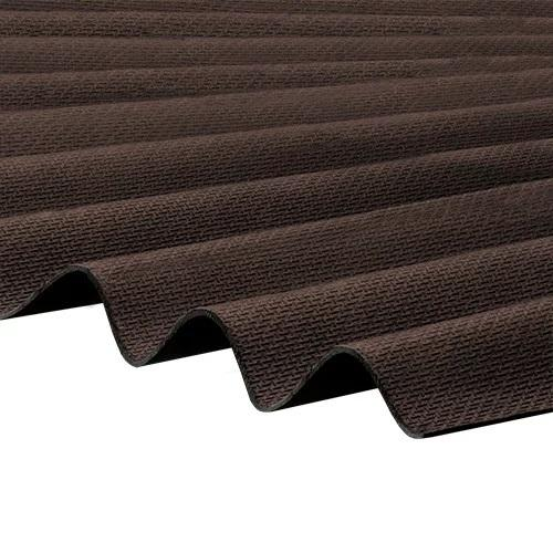 Corrapol-BT - Corrugated Bitumen Roof Sheet - Brown (2000 x 930mm)