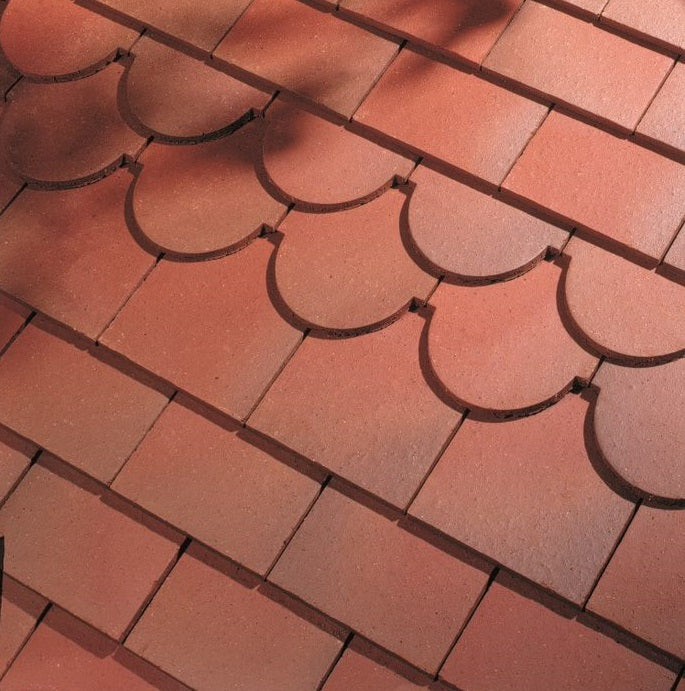 Dreadnought Clay Plain Roof Tiles - Country Brown (smoothfaced)