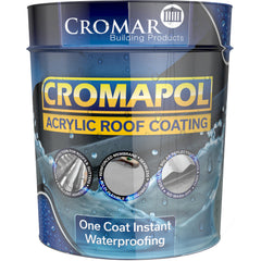 Cromapol Acrylic Waterproof Roof Coating - 20kg White