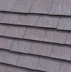 Dreadnought Clay Plain Roof Tiles - Rustic Dark Heather